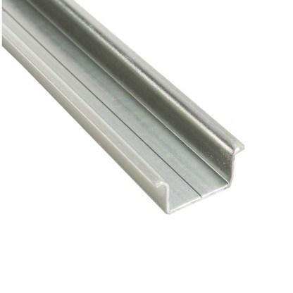 A 10 Piece Box of 2 Meter 35X15 mm Standard DIN Rail 111.021 TS 35/C