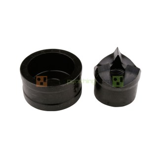 """Alfra 2"""" Conduit Tricut Round Knockout Punch And Die Set"""