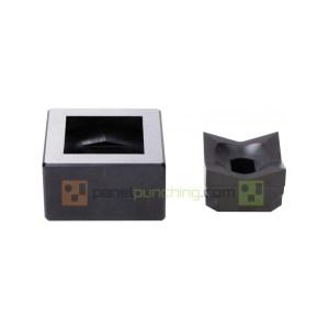 Alfra 1/4 DIN 92 x 92mm Square Punch/Die Set
