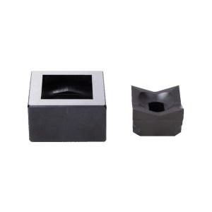 Alfra 1/16 DIN 45 x 45mm Square Punch/Die Set