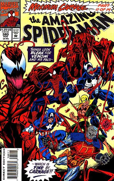 In Defense Of Maximum Carnage Panels On Pages
