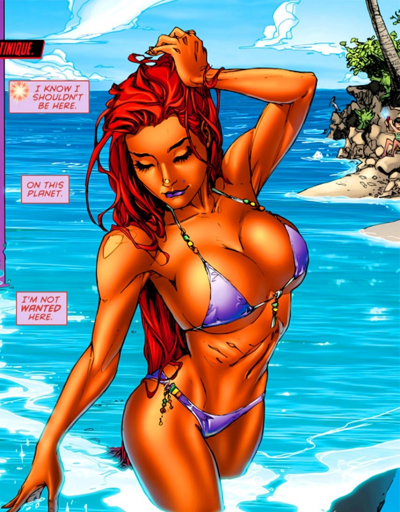 The best naked starfire sister