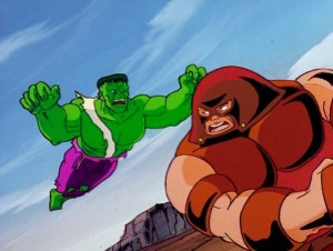 x-men-animated-series-season-3-17-juggernaut-returns-versus-incredible-hulk