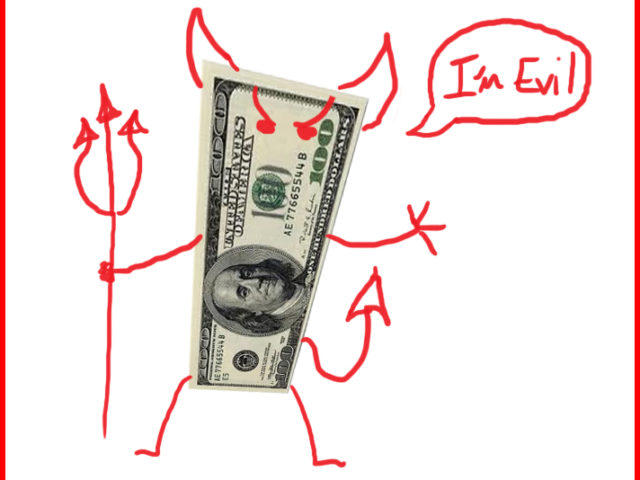 money-root-of-all-evil