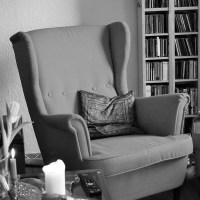 El sillón verde