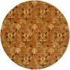 Rust Field with Brown and Gold Accents area rug 2