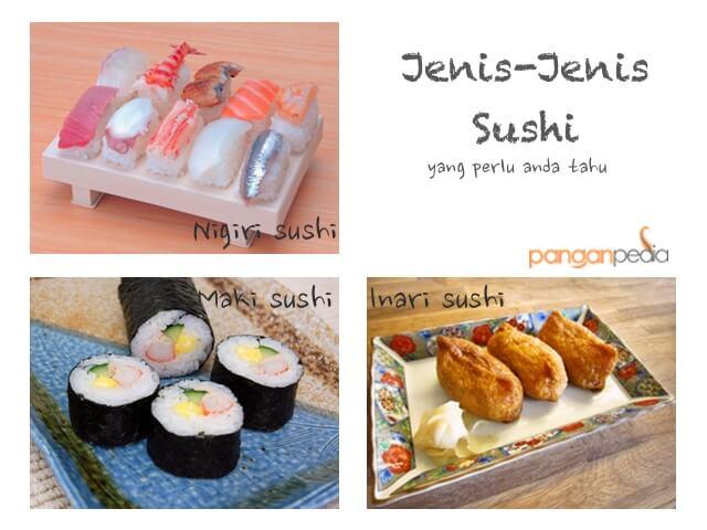 Jenis-jenis sushi yang perlu anda tahu