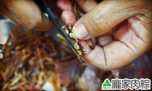 包粽子魷魚切法教學9
