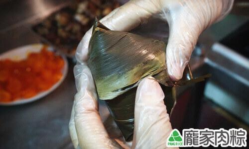 端午節肉粽粽子包法教學