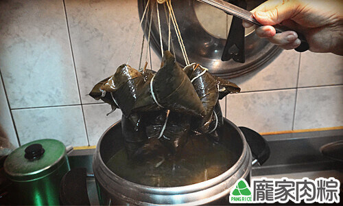 壓力鍋水煮肉粽教學