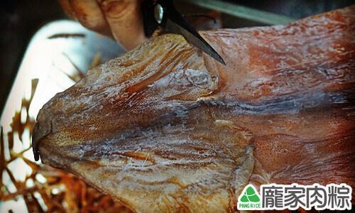 包粽子魷魚剪絲教學