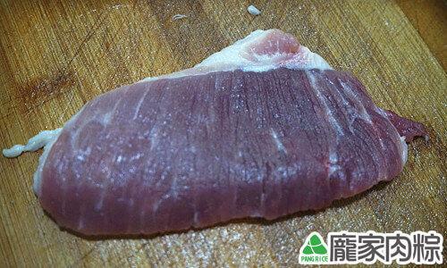 豬肉瘦肉切法-順紋(端午節包粽子知識推薦)