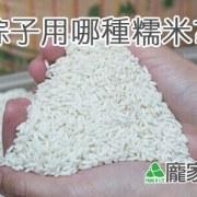 79-00包粽子用哪種糯米?(龐家肉粽食材介紹)