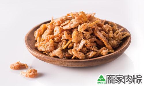 乾淨不染色的新鮮蝦米