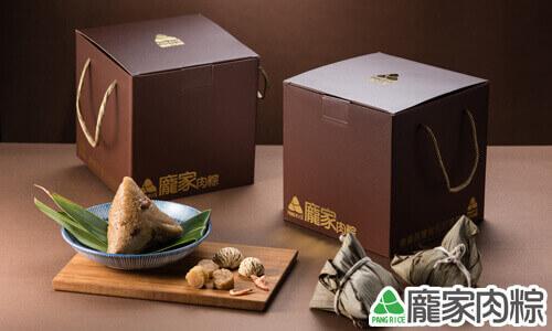 龐家栗香櫻花蝦大干貝粽禮盒