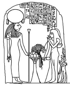 Offering to Sekhmet