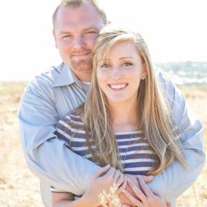 Casey and his wife Katie