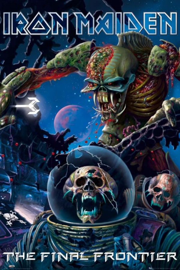 iron maiden final frontier cover poster