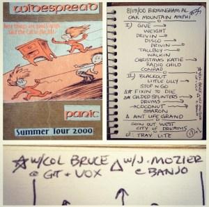 Widespread Panic - 08/13/2000 - Pelham, AL
