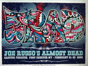 Joe Russo's Almost Dead - 02/23/2020 - Port Chester, NY