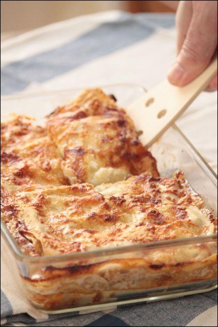 Lasagnes endives champignons 2