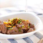 Agneau Presto: Sauté d'agneau à la Gremolata