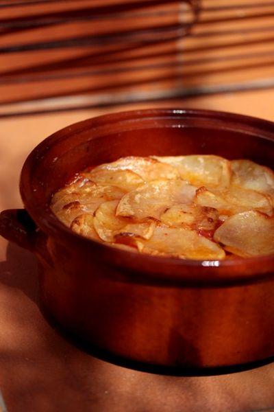 Gratin de tomates et pommes de terre 1
