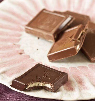 Chocolat lindt fourré 2