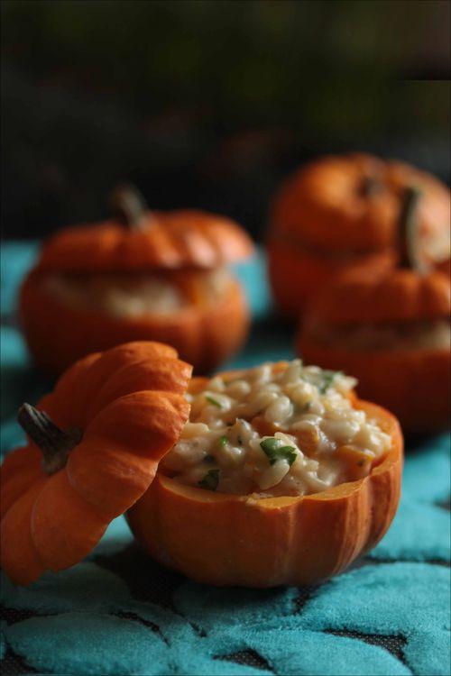 idées recette salée courge halloween