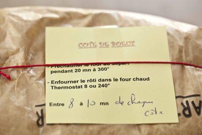 Hugo Desnoyer Côte de boeuf 2