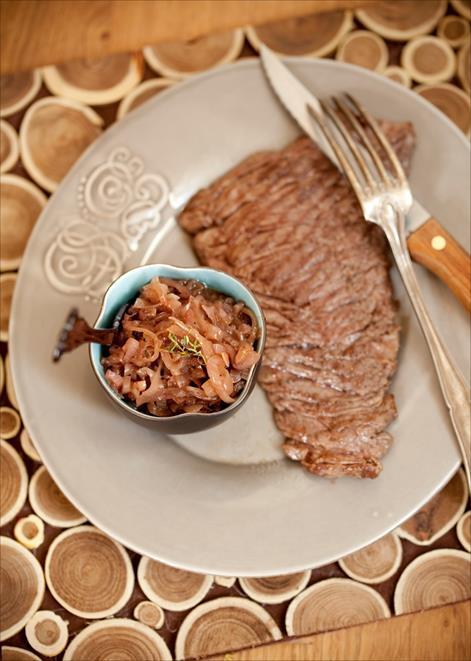 Confit d'Echalotes et met-on du sel sur la viande 1
