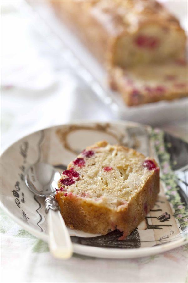 Cake aux pommes et aux cranberries fraîches 2
