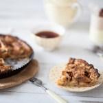 Tarte paysanne pommes cannelle: pour un lundi de Pâques, tout est permis!