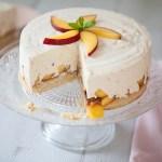 Cheesecake aux nectarines, le Lundi c'est permis de se fêter son propre anniv!