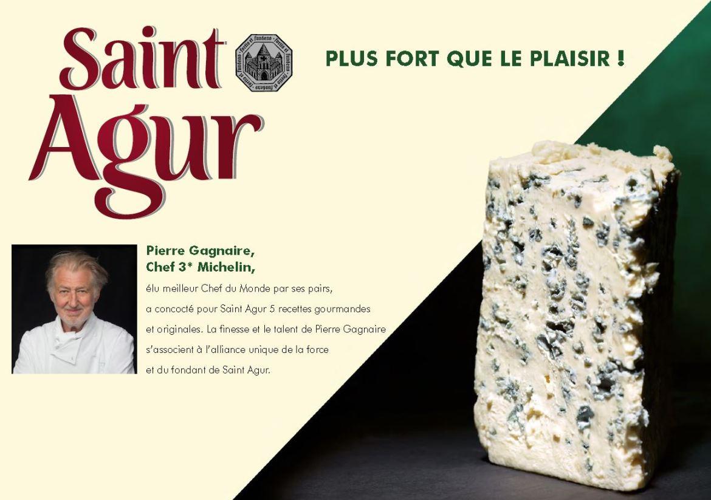 St Agur plus fort que le plaisir Recettes de Pierre Gagnaire 1