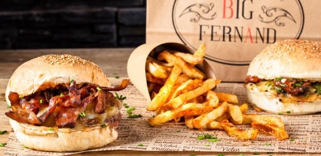 Une grosse envie de hamburgers avec le Hamburgé de Big Fernand