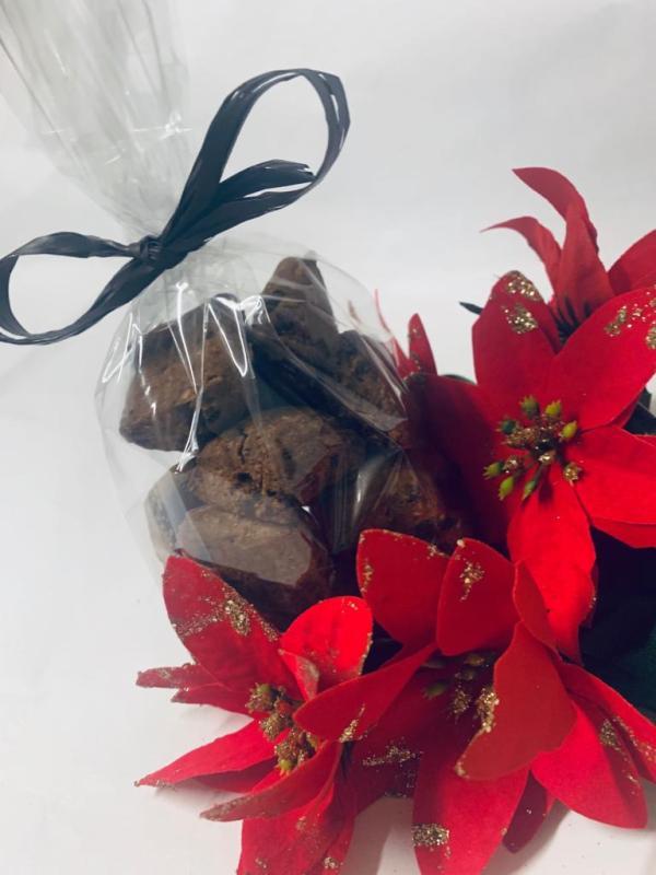 Biscotti arancio e cioccolato