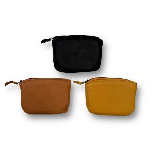 Genuine Deerskin Leather coin pouch with zipper 3.5 inches by 5 inches