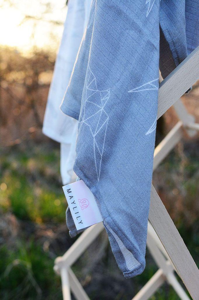 Maylily pieluszka bambusowa jaskółki