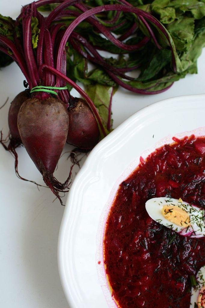 Wiosenna zupa z botwinki