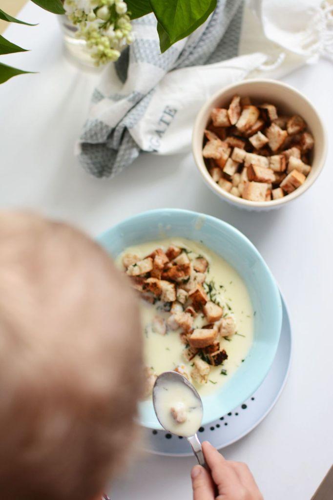Zupa krem ze szparagów