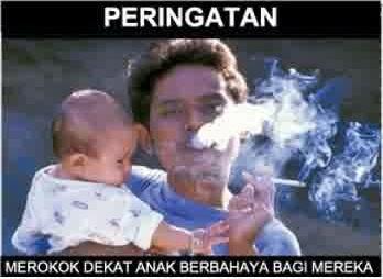 Merokok Dekat Anak-Anak Berbahaya
