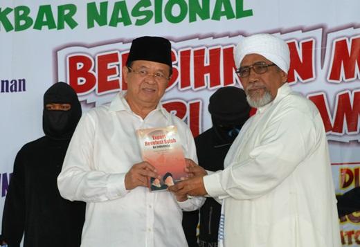 Habib Zein & Wakil Walikota Solo A Purnomo
