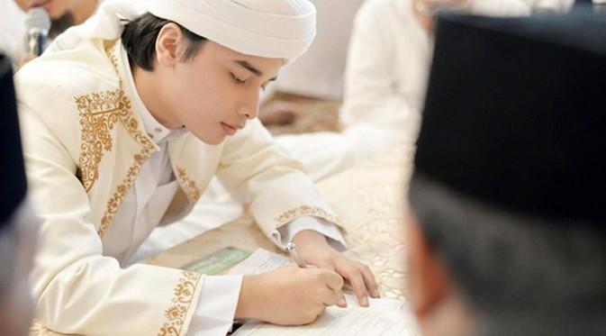 pernikahan putra ustadz arifin ilham 5