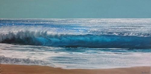 glassy sea