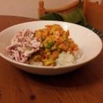 Currygryta med kvargpaprikamix