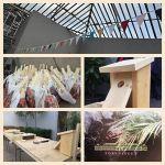 Trädgårdsföreningen i Göteborg, bygga fågelholk för alla barn!