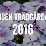 Titta runt bland svenska trädgårdar. Och var med på Tusen Trädgårdar den 3 juli i år. Anmäl dig idag!