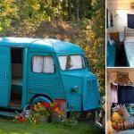 Gullig husbil, compact living