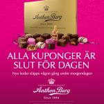 Ge bort en Anthon Berg chokladask imorgon!